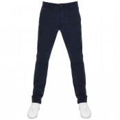 Product Image for Nudie Jeans Slim Adam Trousers Dark Midnight Navy